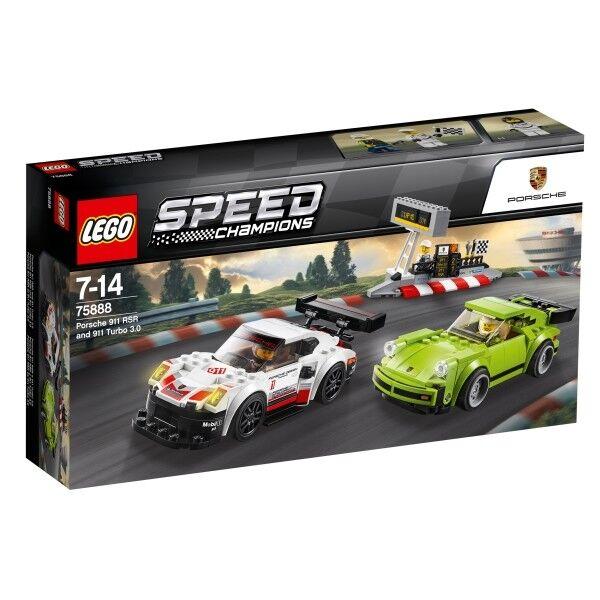 LEGO® Speed Champions 75888 Porsche 911 RSR und 911 911 911 Turbo 3.0 391 Teile 391 Te 805ad3