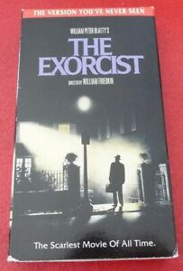 VHS-Movie-William-Peter-Blatty-039-s-The-Exorcist