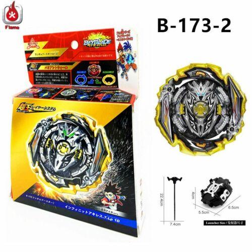 Beyblade Burst Superking B-173-02 Launcher Infinite Achilles 7 Loop Xmas Gift