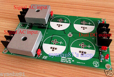 AC to Dual DC 50A Double Bridge Rectified Filtered Filter Power Supply Board AMP