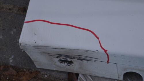 BMW SERIE 1 E81 E82 E88 STRISCIA DI LATO DAVANZALE GONNA Destro O//S Alpinweiss bianco alpino
