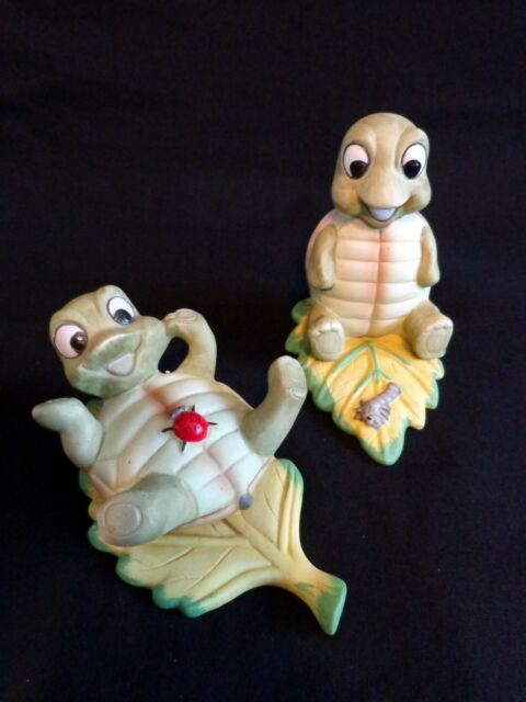 HOMCO Turtle on Leaf Figurine Set of Worm Ladybug 1123