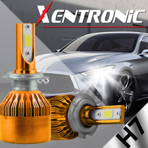 XENTRONIC-LED-HID-Headlight-kit-H7-White-for-Mercedes-Benz-C200-2001-2016