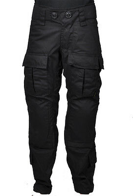 Combat Pant, Trousers, Army, Military, SOF, Special Forces, Black