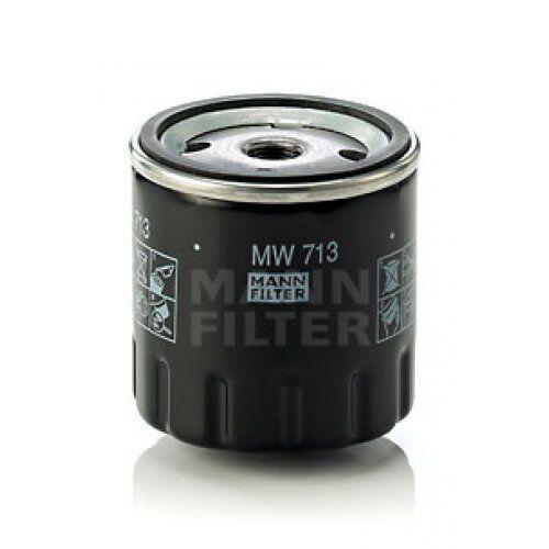 MANN FILTER FILTRO OLIO PSA mw713 MANN-FILTER MW 713