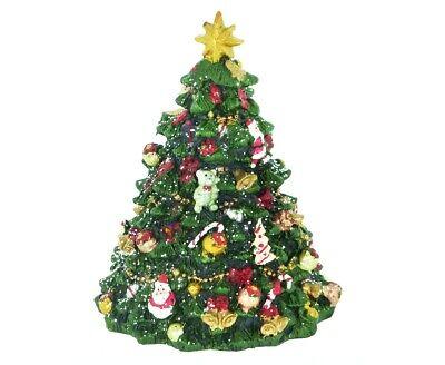 SPIELUHR WEIHNACHTSBAUM 40771 We wish you a MERRY CHRISTMAS DEKO Weihnachten