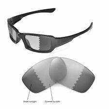 af72856f9ed Walleva Polarized Transition Photochromic Lenses for Oakley Fives Squared