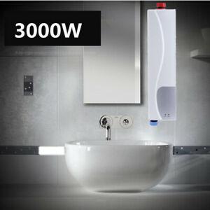 Mini Klein Durchlauferhitzer 3 Kw Elektronisch Tankless Kuche Bad Water Heater Ebay