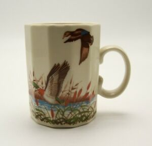 Otagiri-Coffee-Mug-Flying-Ducks-Porcelain-Made-in-Japan
