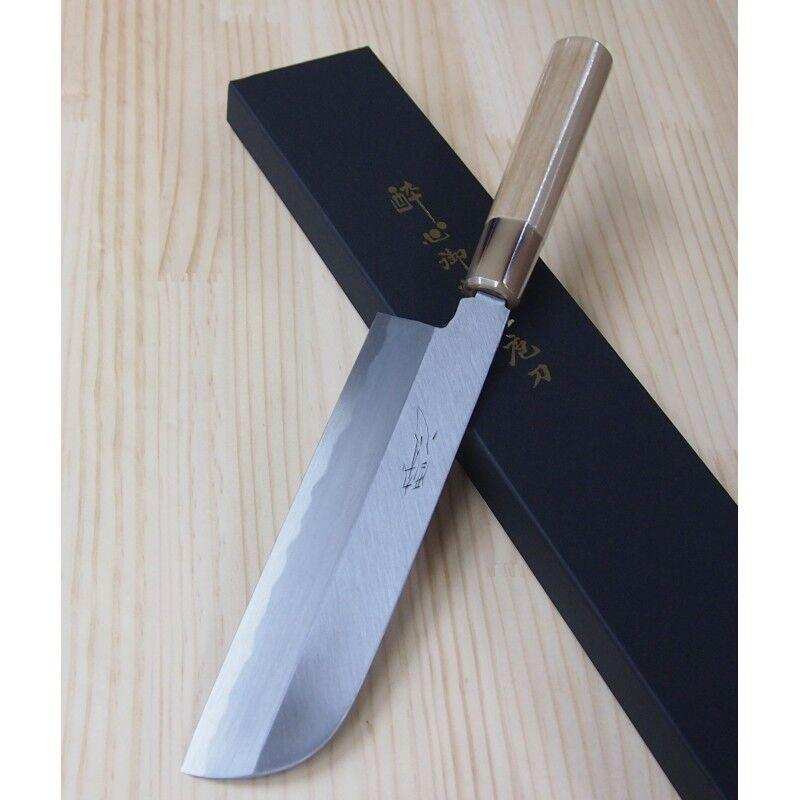 SUISIN Japanese Kamagata Usuba Knife - Yasukiko - Größes  19,5   21cm
