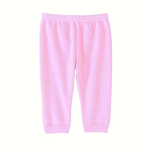 8147a184c4f Garanimals Baby Girls  Solid Fleece Pants with Cuff Pink 18 Mos New 2.99  Ship