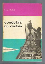 CONQUETE DU CINEMA GEORGES SADOUL 1960 ENVOI DE L'AUTEUR
