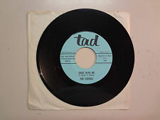 """EXOTICS:Come With Me 2:08-Hymn To Her 2:47-U.S. 7""""1966 Tad (Script Letters) 2410"""
