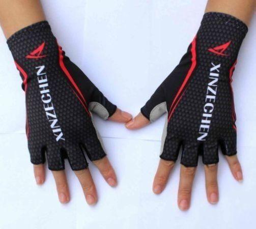 2015 XINZECHEN GEL Pad  Brand Shockproof Cycling Bike Bicycle Half Finger Gloves