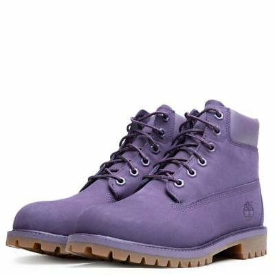 Timberland 6 Inch Classic Premium Purple Youths Boots