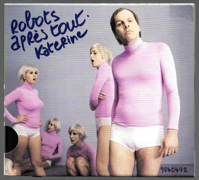 CD ALBUM / KATERNIE - ROBOTS APRES TOUT / DIGIPACK