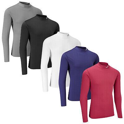 Stuburt Mens Evolve Sport Half Zip Padded Long Sleeve Jacket Top