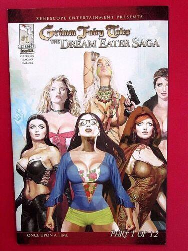 ARTHUR SUYDAM variant HTF Zombies Grimm Fairy Tales DREAM EATER SAGA #1B NM