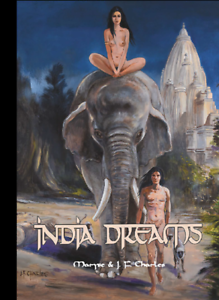 M-amp-J-F-Charles-India-Dreams-T-9-Le-regard-du-vieux-singe-Tirage-de-tete