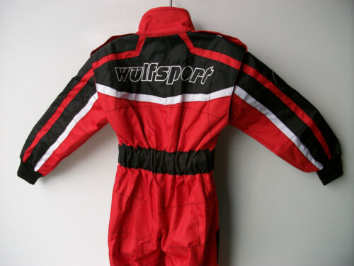 New Age 5-6 Red Wulfsport Kids Off Road Outdoor MOTOCROSS Quad Overalls Cr Child