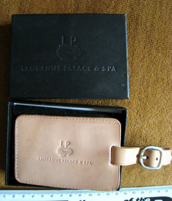 LUGGAGE TAG LAUSANNE PALACE & SPA BOXED NEW i1xao11t2r