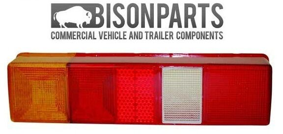 *PAIR OF FORD TRANSIT TIPPER PICKUP TRUCK 1985 ONWARDS REAR LAMP LENS 4936 X 2