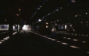 CRIP-Rock-Island-Railroad-Streamliner-Locomotive-Original-1975-Photo-Slide