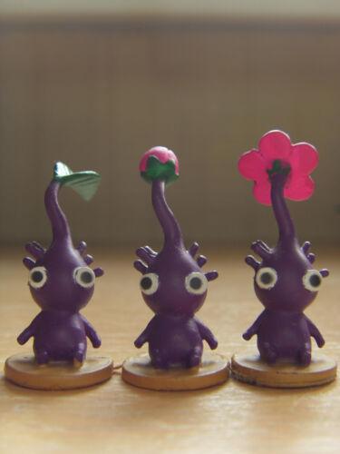 Pikmin 2 Agatsuma Figure Collection Vol 3 Used Purple Pikmin Figures