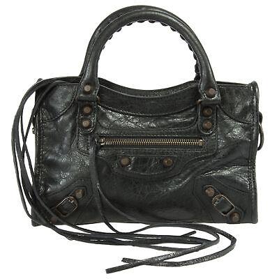 Balenciaga Classic Mini City Leather