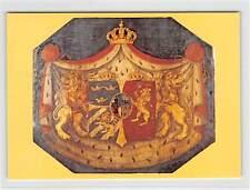 SCHWEDEN UPU CONGRESS 1984 GEDENKKARTE GESCHENK !! MEMBERS ONLY !! RARE !! h0139