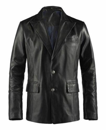 Leather Classic Lambskin Valentin Plus Blazer Size Custom Men's Genuine Made For qtwCUdwf