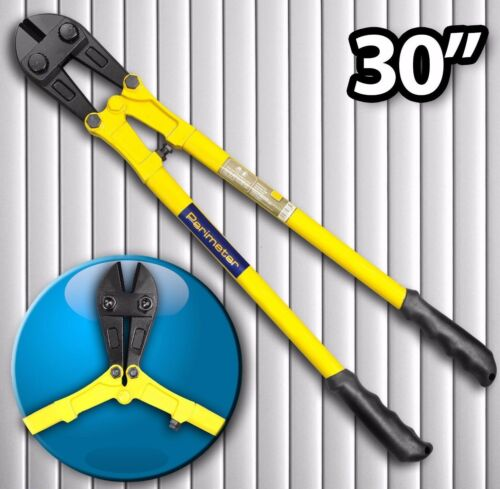 """851 Perimeter 30/"""" 750 mm Jaune Classique Coupe-boulon PER-T-031 Soft Grip"""