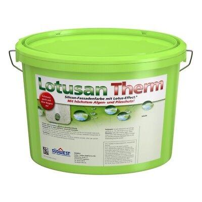 Heimwerker Hervorragende Witterungsbeständigkeit SÜdwest Lotusan Therm 12,5 Liter Weiss