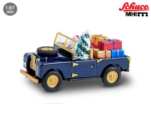 Schuco 452656100 Land Rover Weihnachtsmodell 1:87 NEU /& OVP