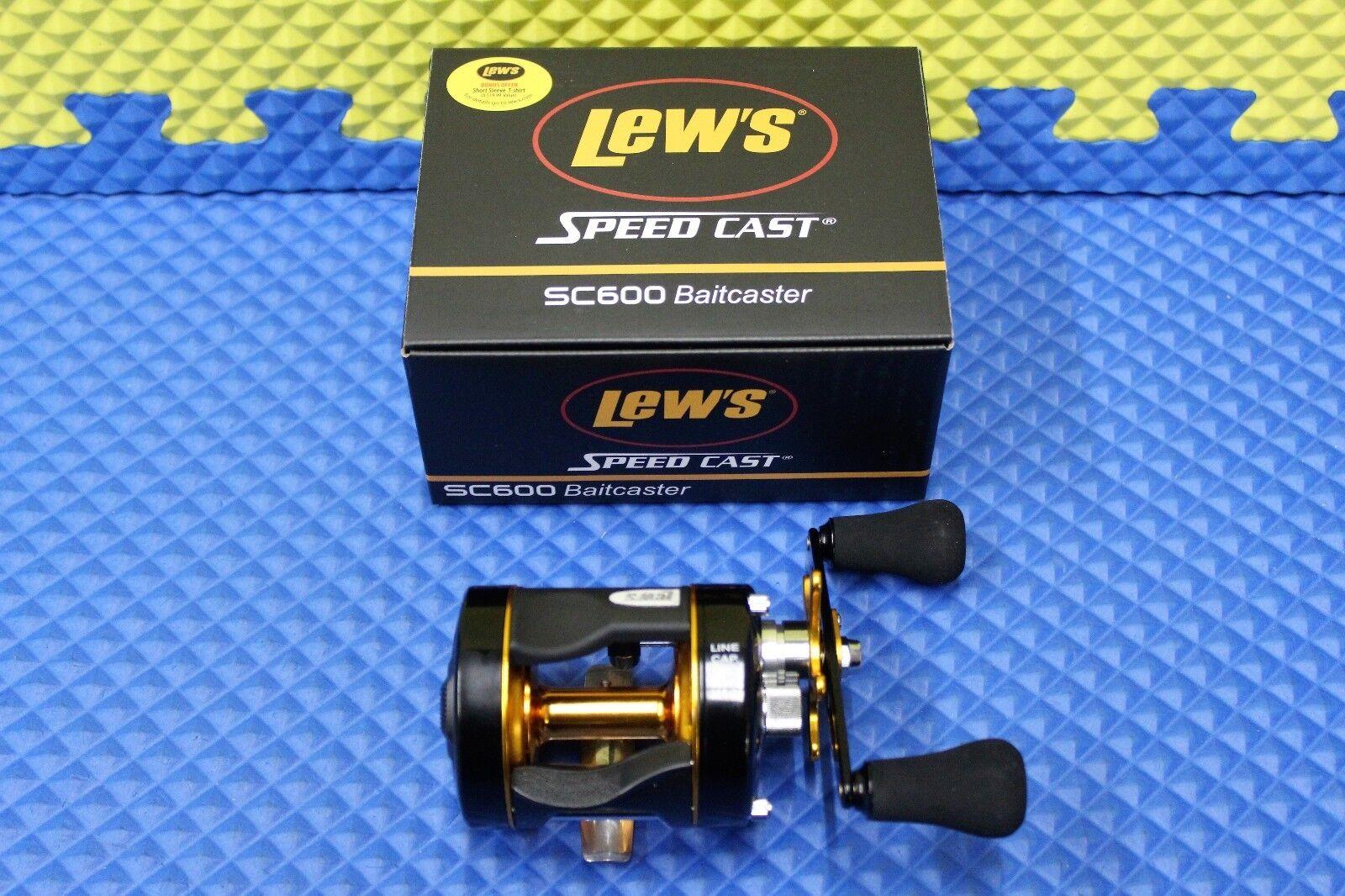 Lew's Speed Cast Baitcaster Reel SC600