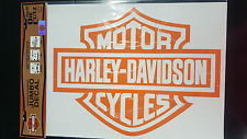 HARLEY DAVIDSON WINDOW DECAL VINYL GENUINE BAR SHIELD LISCENSED CHROMA GREAPHICS