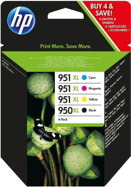 Originale HP C2P43AE Combo pack Cartucce Inkjet blister 950XL/951XL Nero+Ciano+M