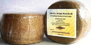 Brass Wool Roll 1 LB - Fine