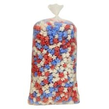 Red White And Blue Star Shaped Packing Peanuts 15 Cu Ft 1 Pack