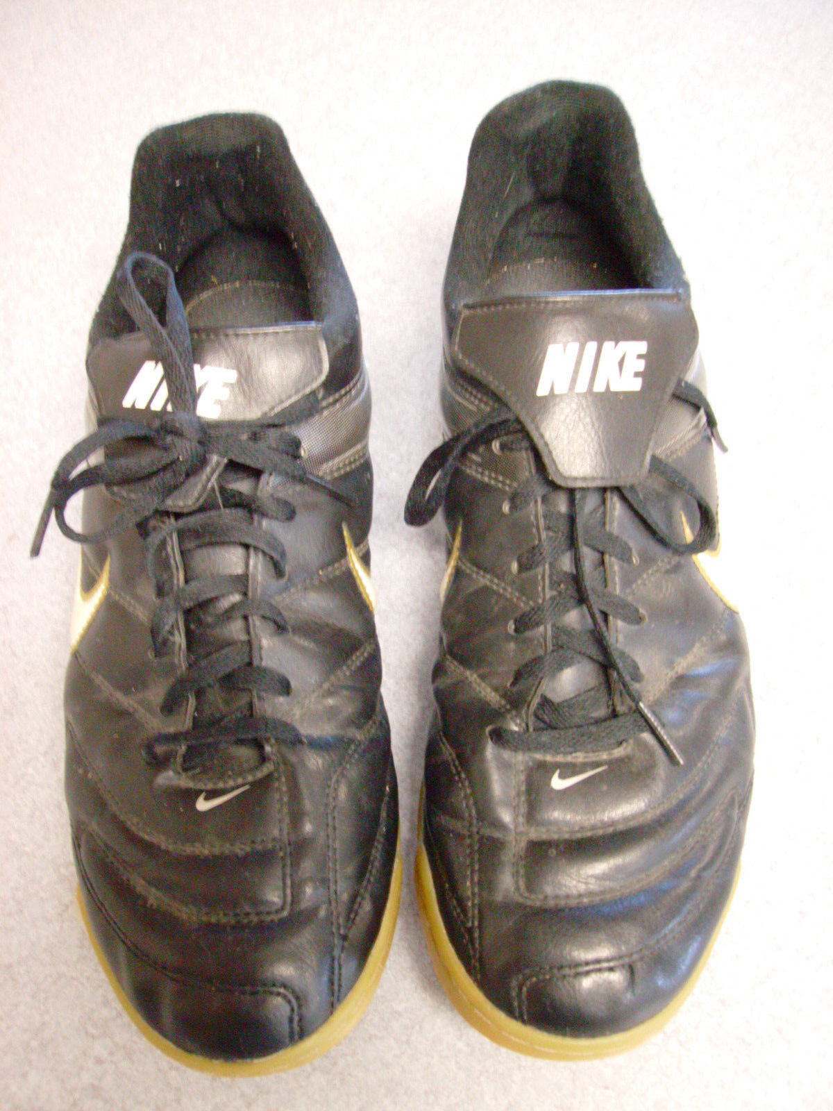 half off c76db fde5b Nike Park II IC (359614 (359614 (359614 017) Black Shoes Soccer Men Size 10  - 44 077d5f