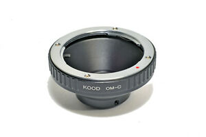 C Mount to Olympus OM Lens Adapter OM Lens - C Mount Cine Camera Body