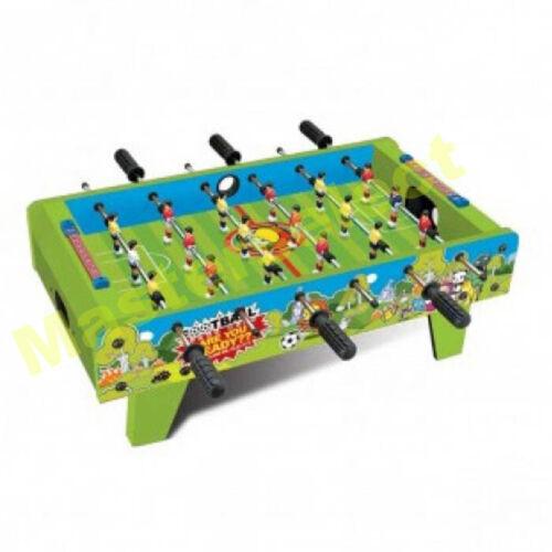 spiel mini kickertisch fußball für familie 51x31x11cm Spiele Petit baby foot tisch