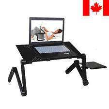 Portable Folding Laptop Notebook Table Desk Tray Stand+Cooling Pad+Mouse Pad