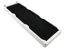 XSPC EX420 Slim Line Triple 140mm Fan Water Cooling 420mm Radiator White
