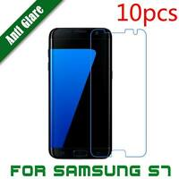 10pcs/lot Matte Screen Guard Shield Protector Film for Samsung Galaxy S7&Edge