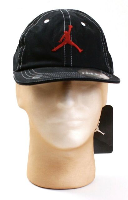 8b6e7cf5679 Nike Jordan Jumpman Black Adjustable Baseball Cap Youth Boy s 8-20 ...