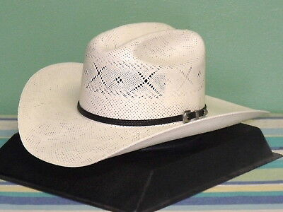 RESISTOL GEORGE STRAIT ALL MY EX/'S 20X STRAW COWBOY WESTERN HAT