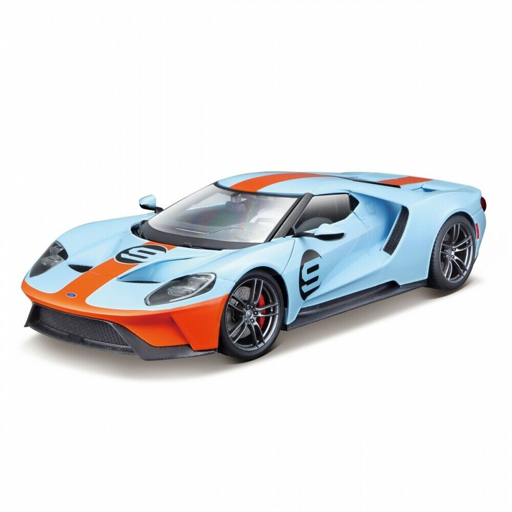 FORD GT 2017 Gulf Blau   Orange  9 1 18 Maisto Exclusic Ed. -    NEW