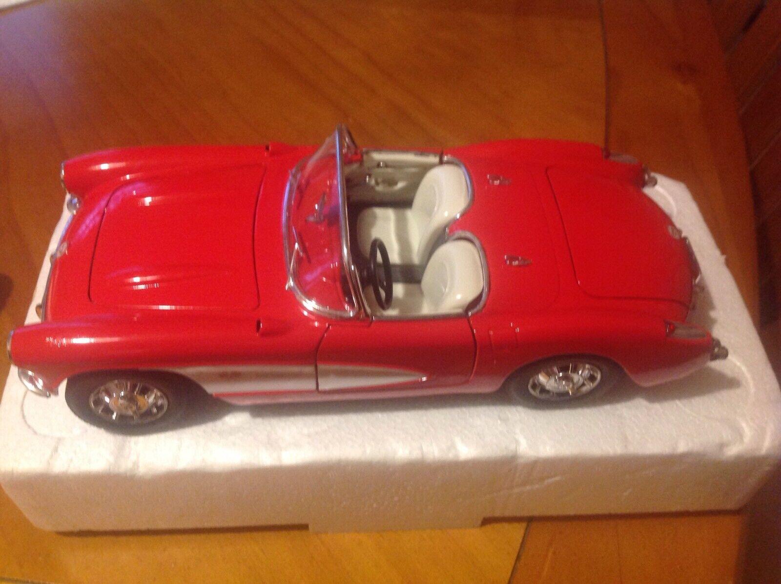 Corvette 1957 1 18 Scale Model New