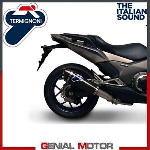 Intelligent Terminale Scarico Termignoni Honda Integra / Nc 700 / 750 S/x/d 2013 13 Remise En Ligne